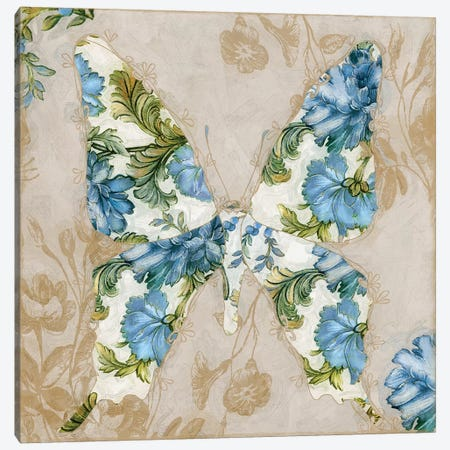 Winged Tapestry I Canvas Print #CBY1081} by Color Bakery Art Print