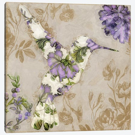 Winged Tapestry IV Canvas Print #CBY1084} by Color Bakery Canvas Artwork