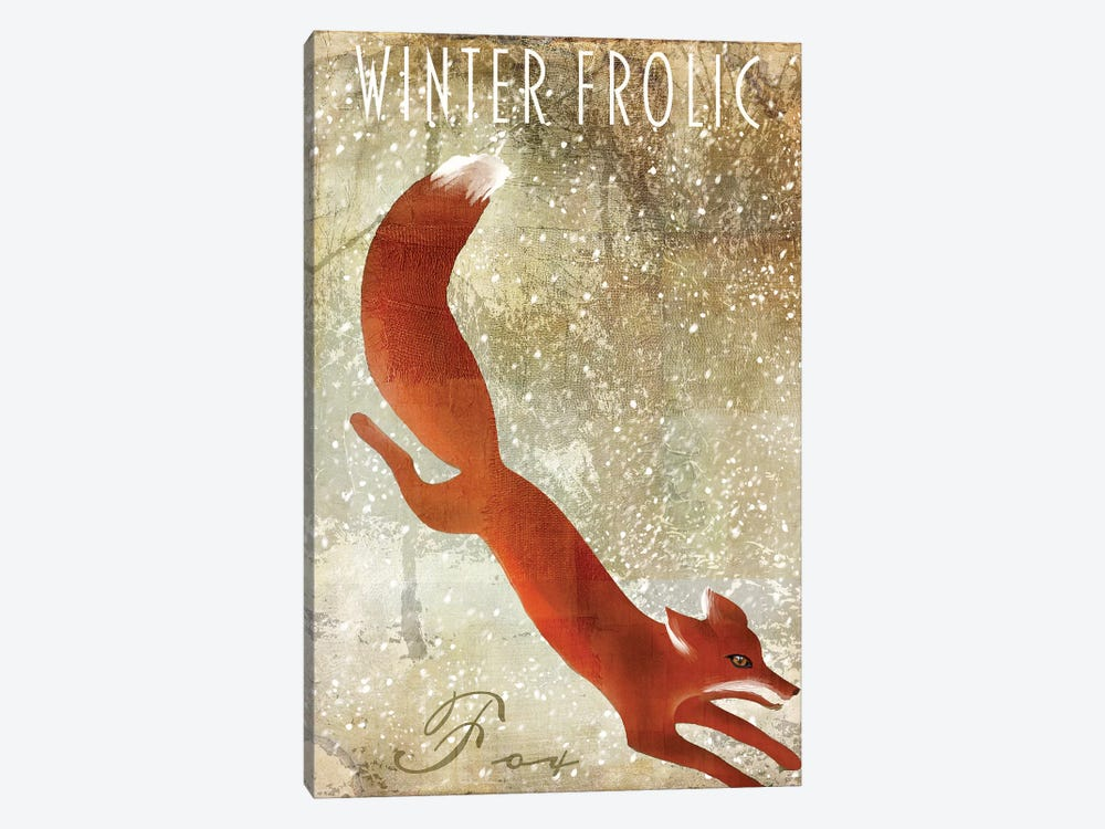 Winter Game I by Color Bakery 1-piece Canvas Wall Art