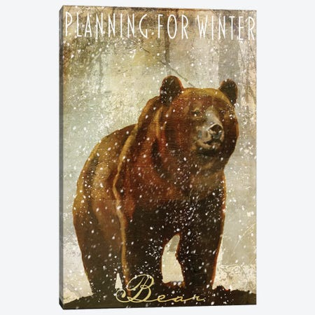 Winter Game III Canvas Print #CBY1089} by Color Bakery Art Print