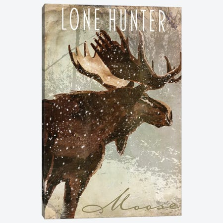 Winter Game IV Canvas Print #CBY1090} by Color Bakery Canvas Artwork