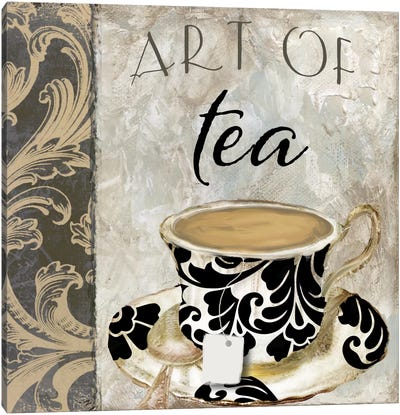 Art Of Tea I Canvas Art Print