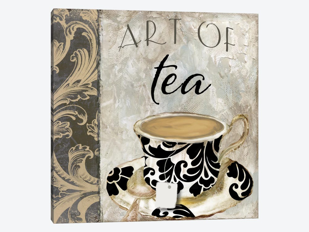 Art Of Tea I by Color Bakery 1-piece Canvas Print