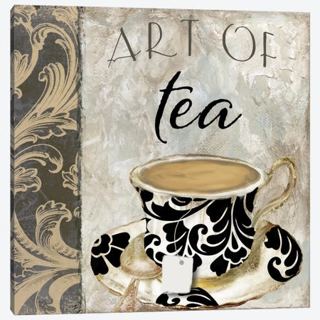 Art Of Tea I Canvas Print #CBY115} by Color Bakery Art Print