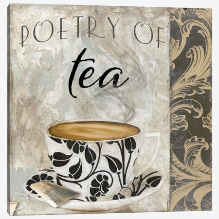 Art Of Tea II Canvas Print #CBY116} by Color Bakery Art Print