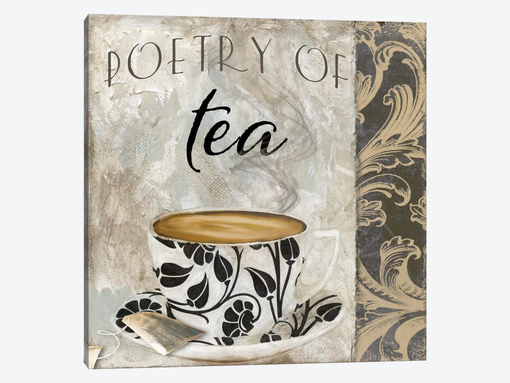 Art Of Tea II by Color Bakery 1-piece Canvas Art