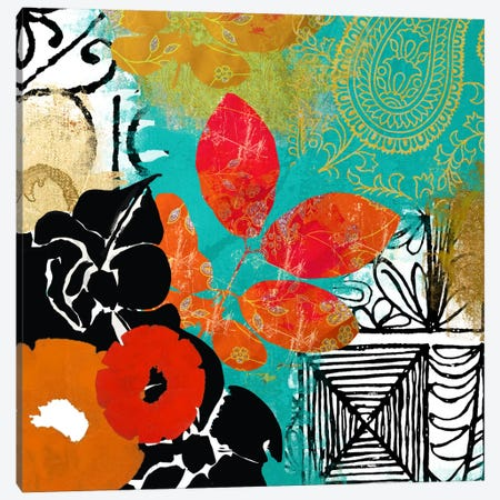 Bali II Canvas Print #CBY125} by Color Bakery Canvas Art
