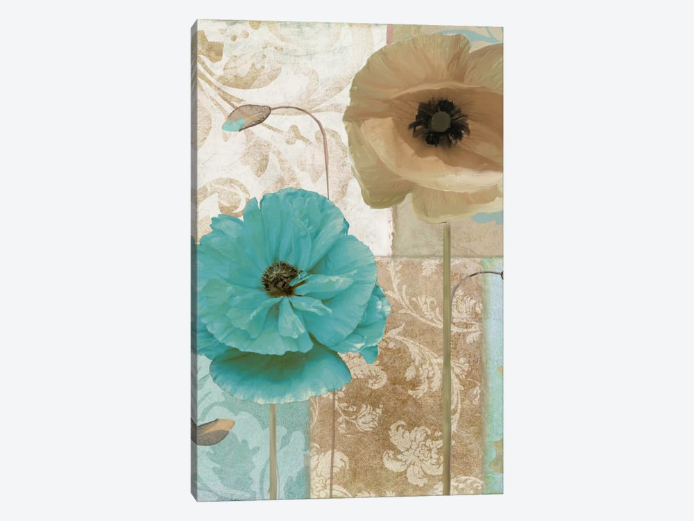 Beach Poppies I by Color Bakery 1-piece Canvas Art Print
