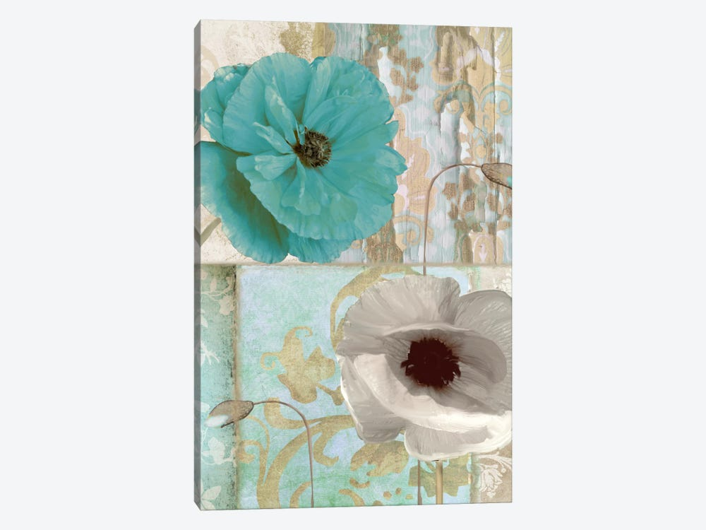 Beach Poppies II by Color Bakery 1-piece Canvas Wall Art