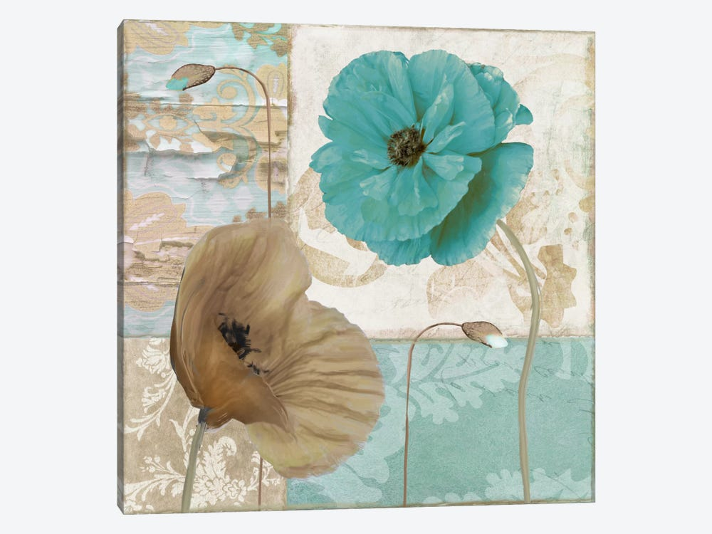 Beach Poppies IV by Color Bakery 1-piece Canvas Artwork