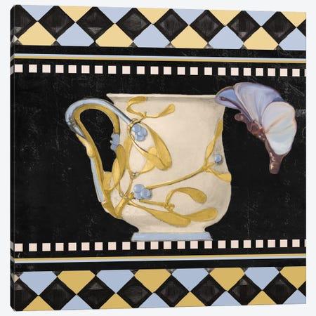 Bistro Nouveau I Canvas Print #CBY156} by Color Bakery Canvas Art Print