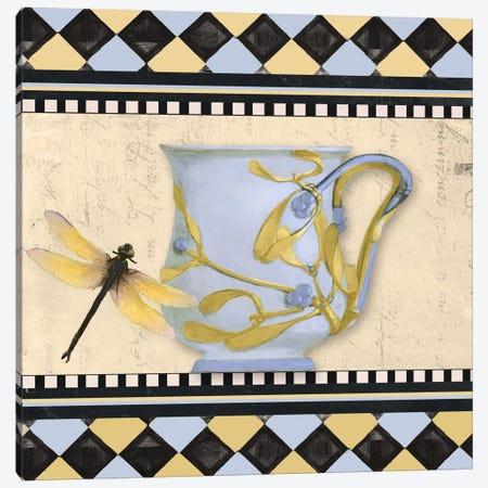 Bistro Nouveau II Canvas Print #CBY157} by Color Bakery Art Print