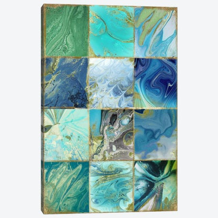 Blue Earth Canvas Print #CBY166} by Color Bakery Canvas Wall Art