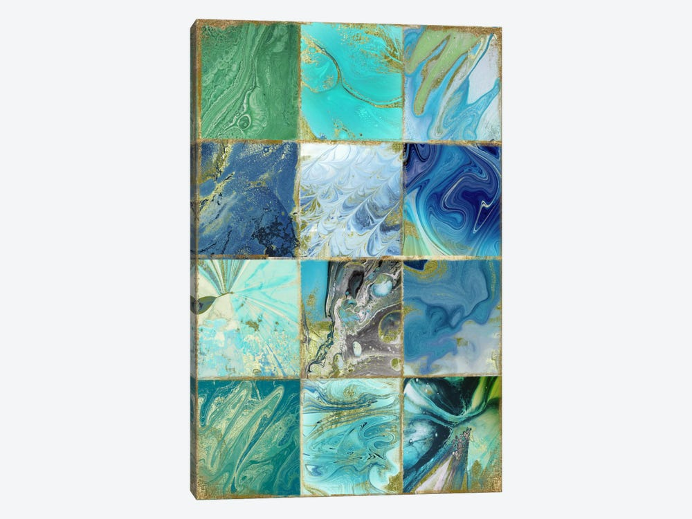Blue Earth by Color Bakery 1-piece Art Print
