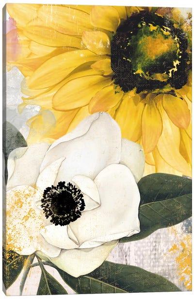 Blue Then Yellow II Canvas Art Print