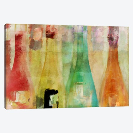 Bouteilles I Canvas Print #CBY189} by Color Bakery Canvas Print