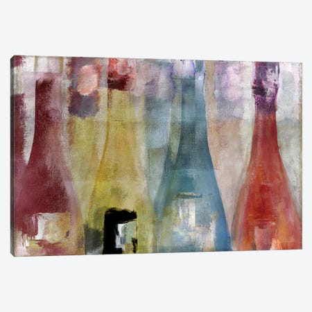 Bouteilles II Canvas Print #CBY190} by Color Bakery Canvas Art