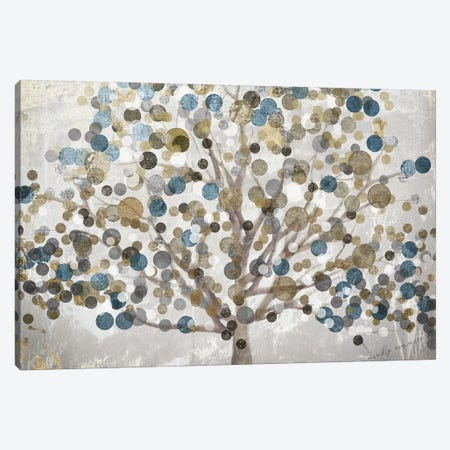 Bubble Tree Canvas Print #CBY195} by Color Bakery Art Print