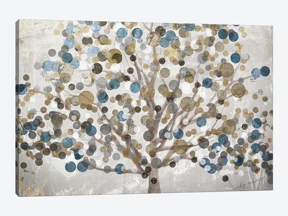 Bubble Tree by Color Bakery 1-piece Canvas Print