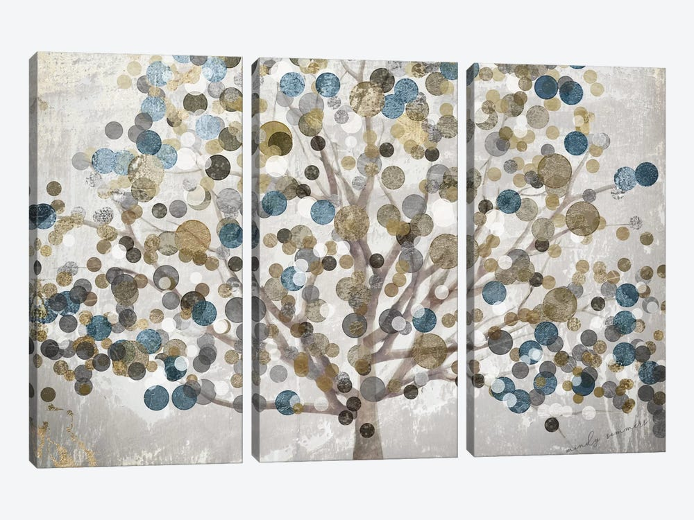 Bubble Tree by Color Bakery 3-piece Art Print