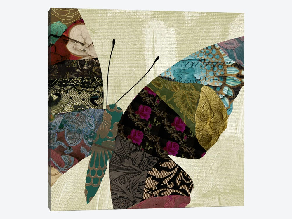 Butterfly Brocade IV by Color Bakery 1-piece Canvas Print