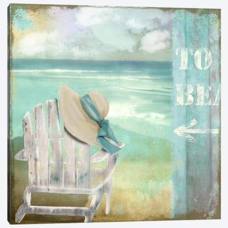 By The Sea I Canvas Print #CBY200} by Color Bakery Canvas Artwork