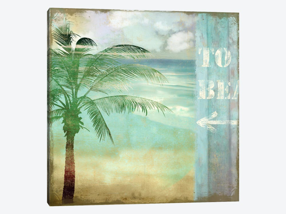 By The Sea III by Color Bakery 1-piece Canvas Art Print