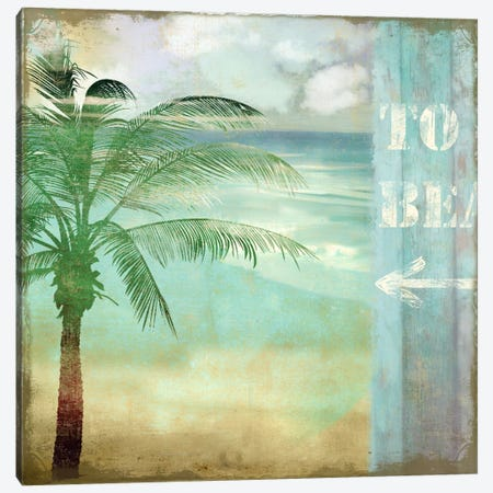 By The Sea III Canvas Print #CBY202} by Color Bakery Canvas Art