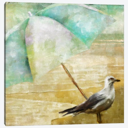 By The Sea IV Canvas Print #CBY203} by Color Bakery Canvas Artwork