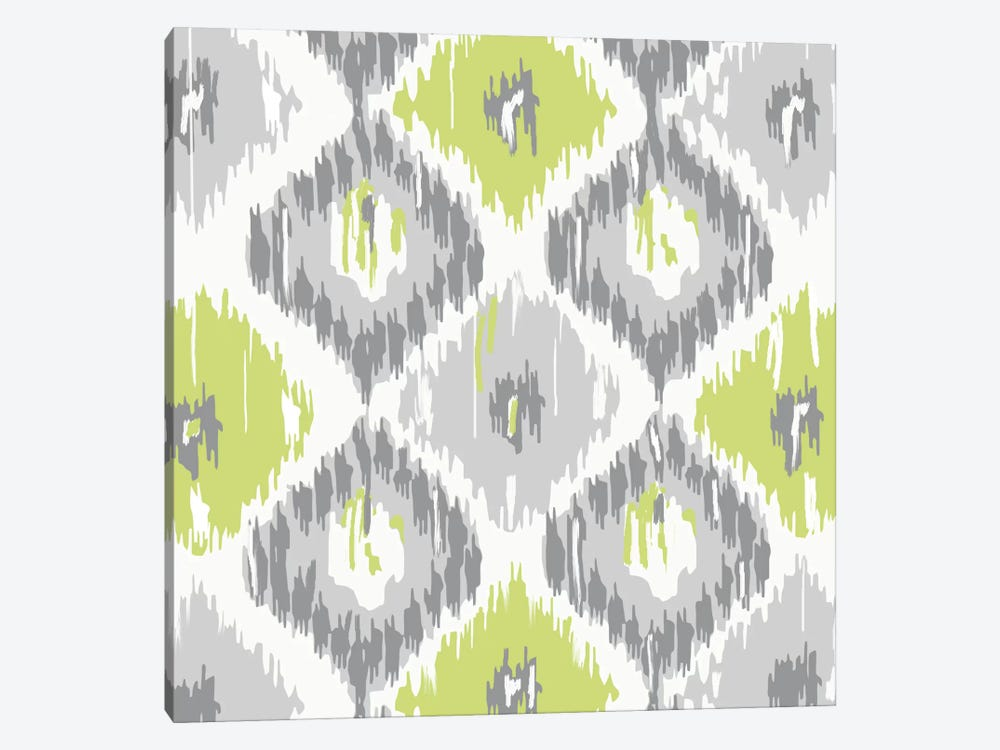 Calyx Ikat by Color Bakery 1-piece Art Print