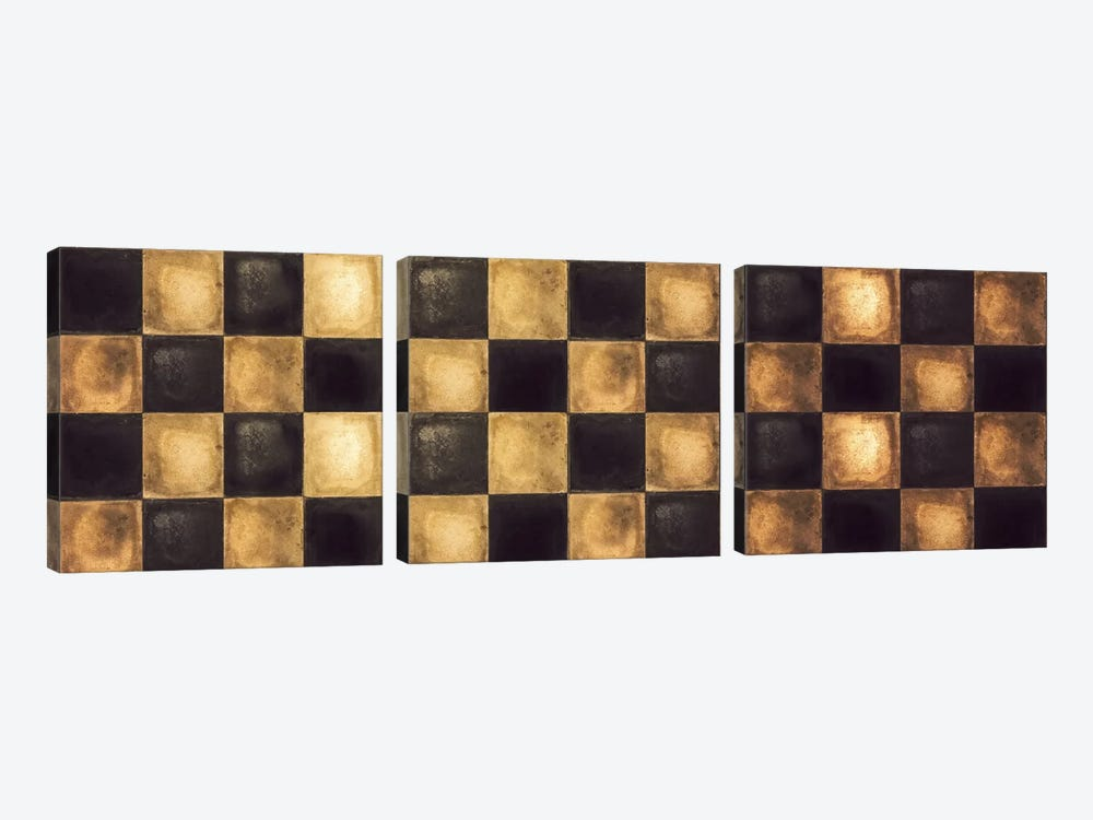 Checkered by Color Bakery 3-piece Canvas Wall Art