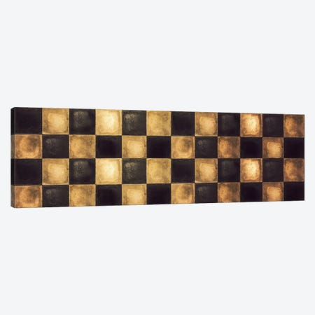 Checkered Canvas Print #CBY232} by Color Bakery Art Print