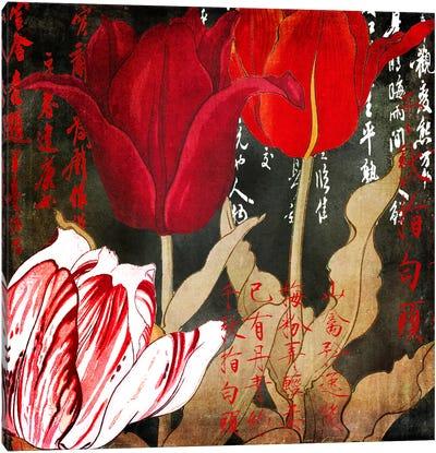 China Red II Canvas Art Print