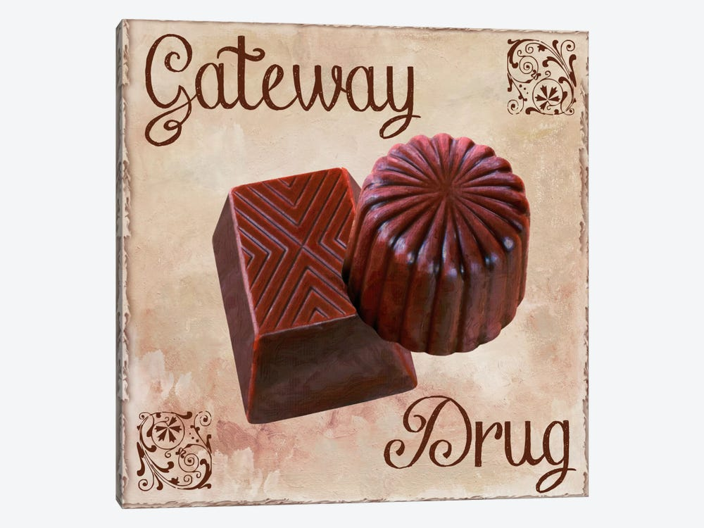 Chocolate Therapy II by Color Bakery 1-piece Canvas Print