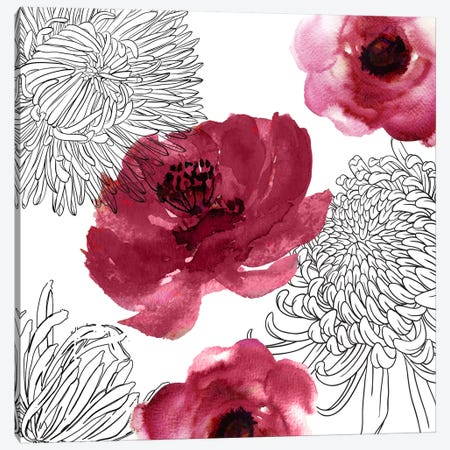 Cinnabar I Canvas Print #CBY248} by Color Bakery Canvas Art
