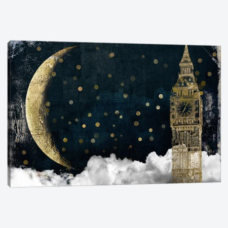 Cloud Cities London Canvas Print #CBY253} by Color Bakery Canvas Art Print