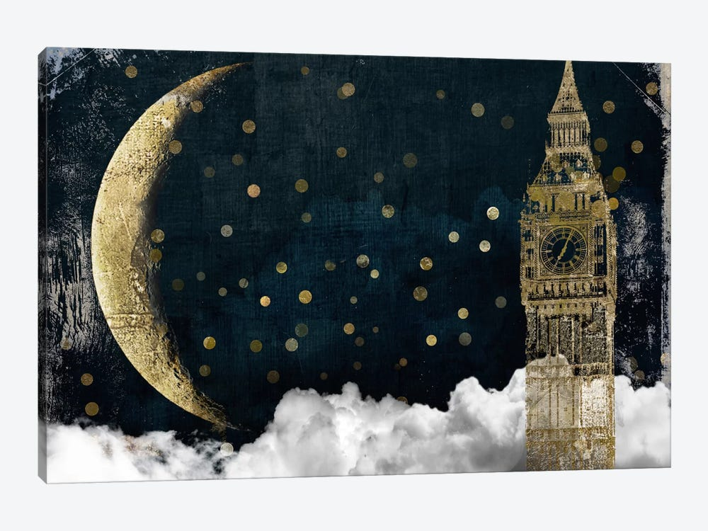 Cloud Cities London by Color Bakery 1-piece Canvas Print