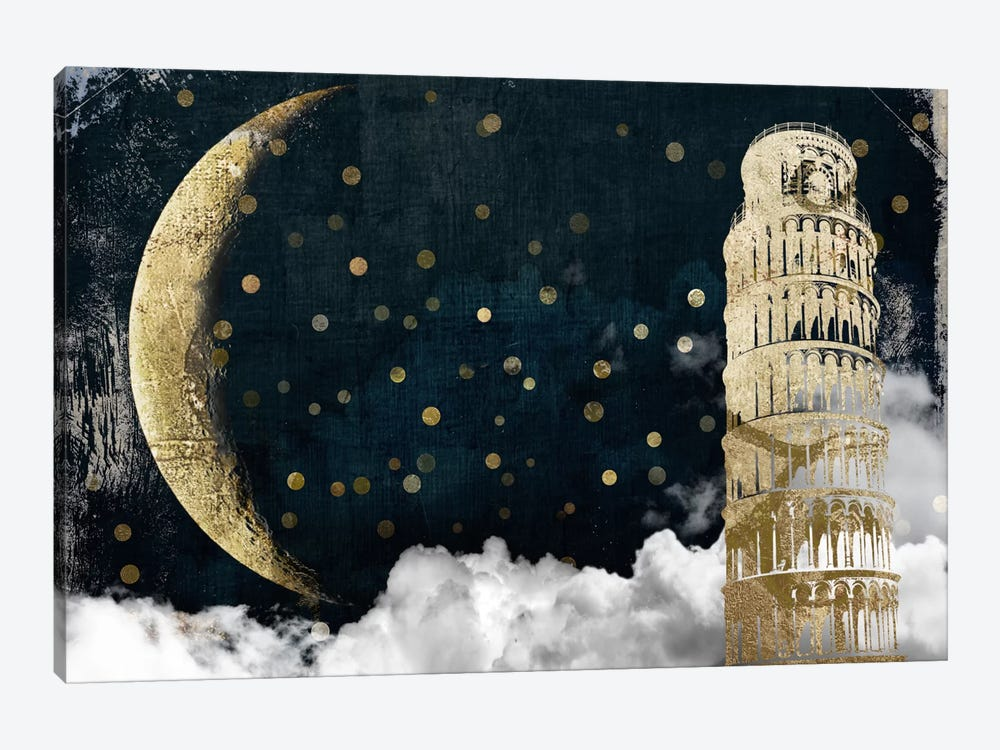 Cloud Cities Pisa by Color Bakery 1-piece Canvas Artwork