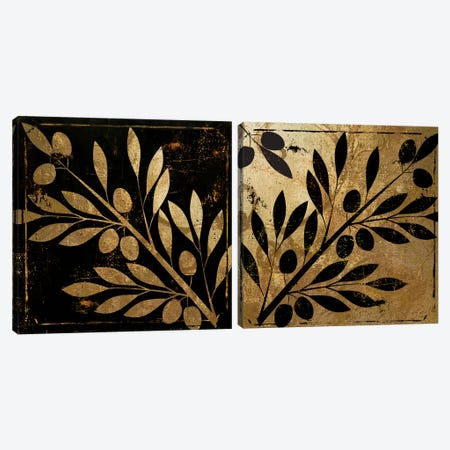 Bellissima Diptych Canvas Print Set #CBY2HSET014} by Color Bakery Canvas Art Print