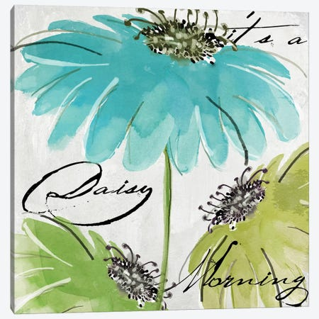 Daisy Morning I Canvas Print #CBY300} by Color Bakery Art Print