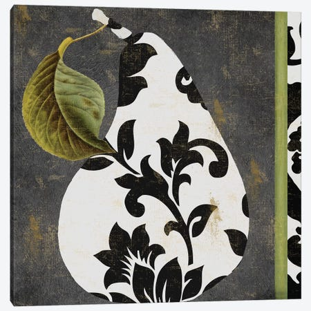 Decorative Pear I Canvas Print #CBY321} by Color Bakery Canvas Print