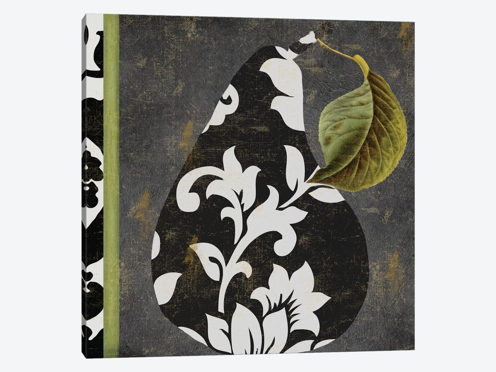 Decorative Pear II by Color Bakery 1-piece Canvas Art