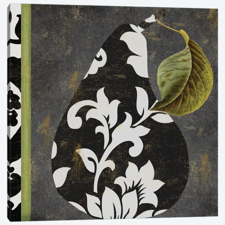 Decorative Pear II Canvas Print #CBY322} by Color Bakery Canvas Print