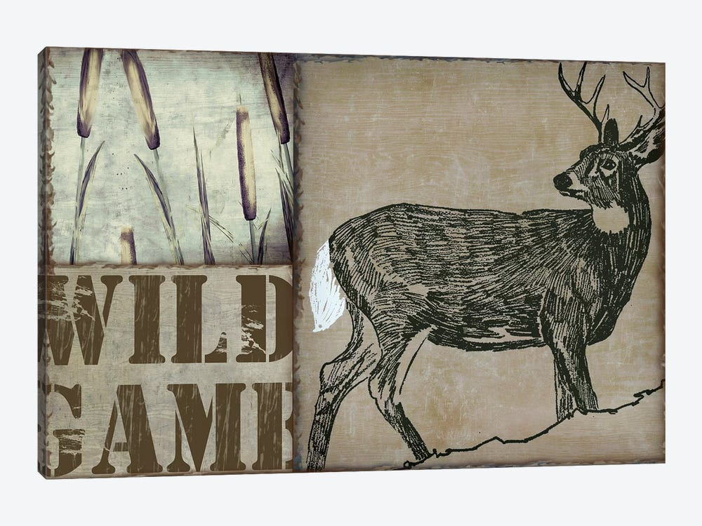Deer With White Tail by Color Bakery 1-piece Art Print