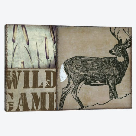Deer With White Tail Canvas Print #CBY323} by Color Bakery Canvas Print