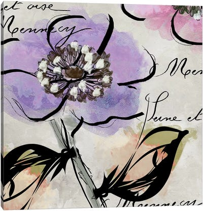 Dogwood II Canvas Art Print
