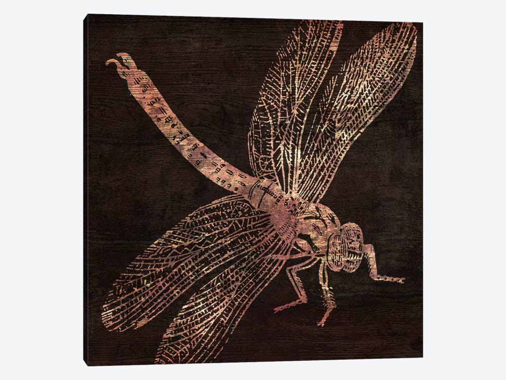 Dragonfly by Color Bakery 1-piece Canvas Artwork