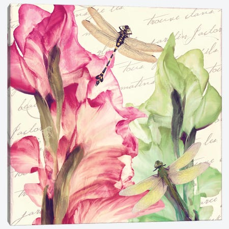 Dragonfly Morning II Canvas Print #CBY339} by Color Bakery Canvas Artwork