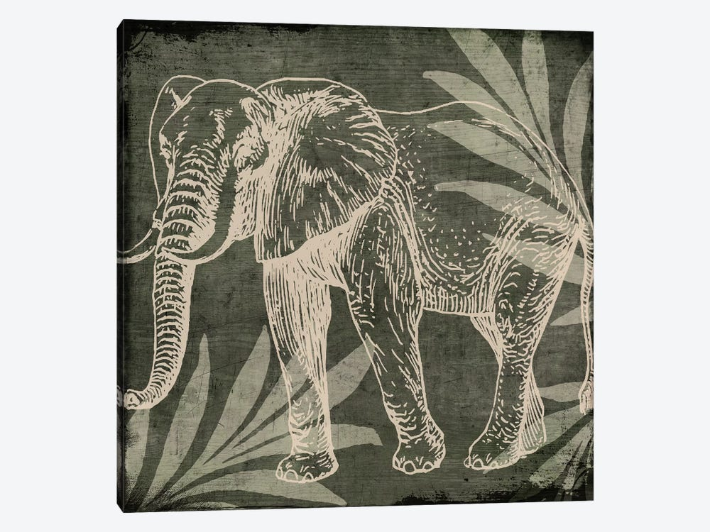 Elephant I by Color Bakery 1-piece Canvas Art