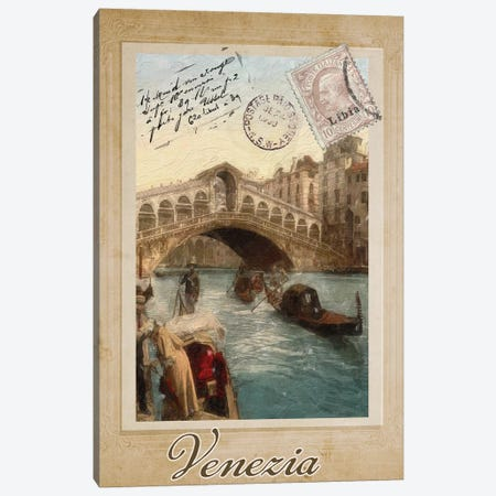 European Vacation I Canvas Print #CBY357} by Color Bakery Art Print